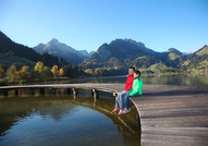 Bergsee Schwarzsee © union fribourgeoise du tourisme