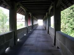 Teufelsbrücke innen