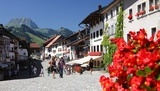 Gruyères is the most beautiful village in western Switzerland