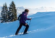 Schneeschuh und Winterwandern