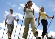 Nordic Walking, Courir