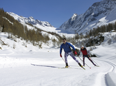 Cross country skiing - Ltschental