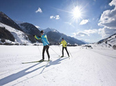 82 km of prepared cross-country ski runs  Goms
