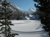 The Saas Valley Track - 26 km of cross-country skiing in one go