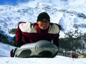 Snow-Tubing - Saas-Fee