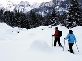 Snowshoe Trail - Lauchernalp  Ltschental
