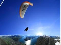 Paragliding vom Urmiberg