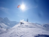 Snowkiting - Brig