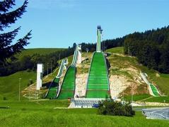 Skisprung-Schanzen