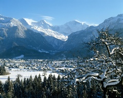 Winter in Interlaken