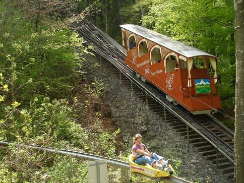 Heimwehfluh - Vintage funicular