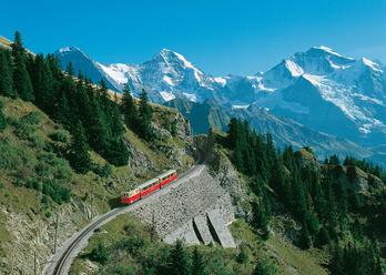 Schynige Platte - Zahnradbahn