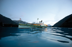 Cruises - Lake Thun and Lake Brienz
