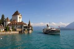 Castle Oberhofen - Lake Thun