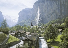 Staubbachfall Lauterbrunnen