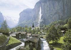 Staubbach falls - Lauterbrunnen