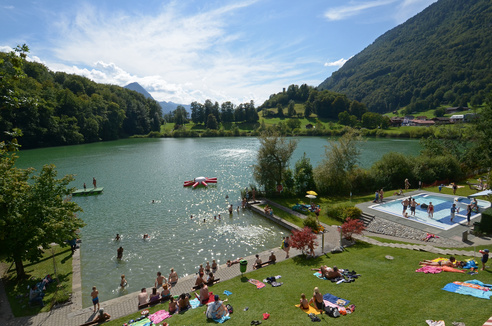 Naturstrandbad Burgseeli - Ringgenberg-Goldswil