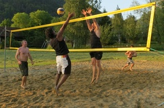 Beach-Volleyball