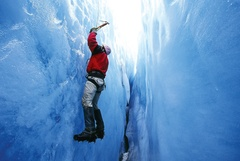 Climbing in Winter