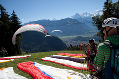 Paragliding - Start