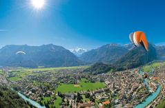 Paragliding - Interlaken