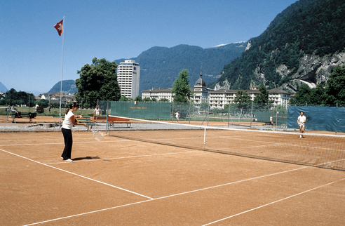 Tennis à Interlaken