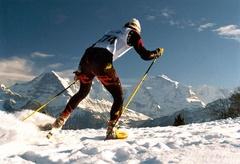 Langlauf-Ski-Miete