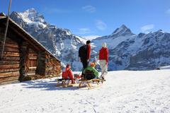 Jungfrau Region - Schlitteln