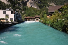 Schleuse - Interlaken - Unterseen