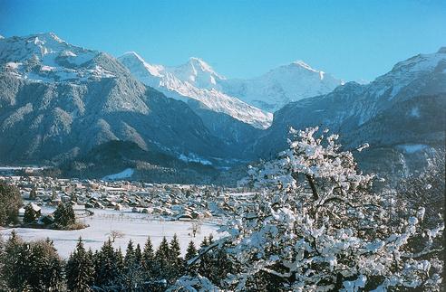 Interlaken - Tor zur Jungfrau