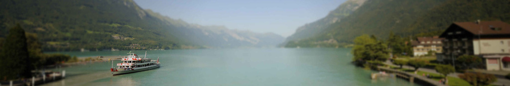 Bönigen - local colour on the shores of Lake Brienz