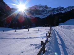 Saxeten - Winterwandern
