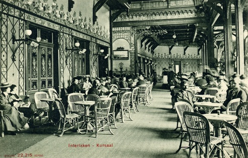 Geschichte - Kursaal Interlaken