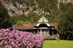 Interlaken - Kursaal Garten