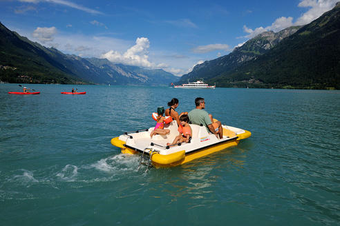 Bnigen - Brienzersee - Pedalo