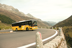 Tours across the central alps passes