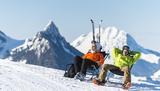 Get a whole day of ski pleasure for only CHF 20.-