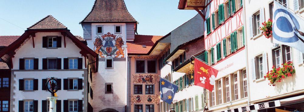 Städtchen Willisau Obertor