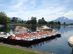 Pedalo- und Bootsvermietung