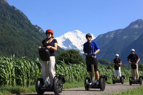 Segway-Gruppe - Jungfrau