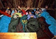 Schlafen im Stroh - Schlafen auf dem Bauernhof