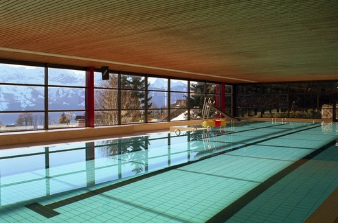 Beatenberg panoramic indoor pool