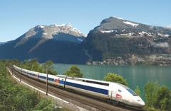 TGV Paris-Bern-Interlaken