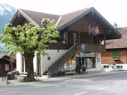 L'office du tourisme de Ringgenberg