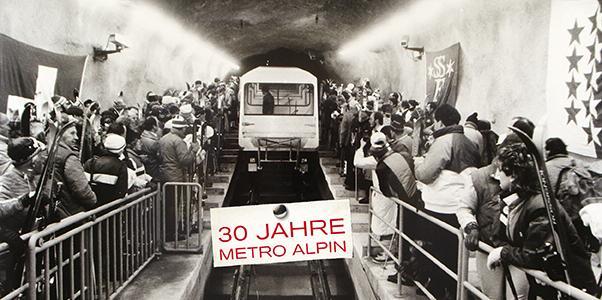 Jubliäum 30 Jahre Metro Alpin
