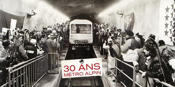 30 ans du metro alpin