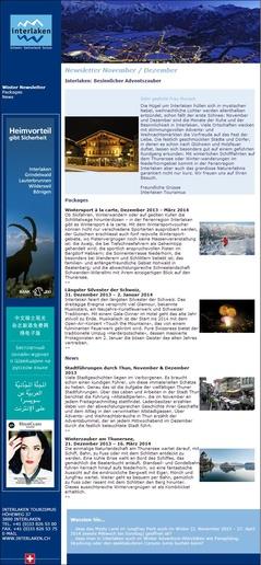 Newsletter Interlaken
