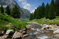 Bannalpsee Bach
