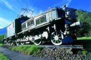 Denkmal-Lokomotive Ce 6/8 II 14270 «Krokodil» © SBB Historic Team Erstfeld