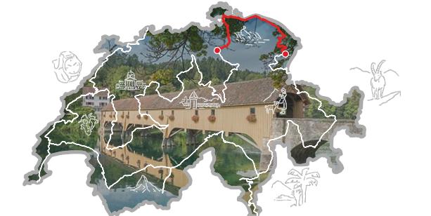 Grand Tour of Switzerland Region Zürich